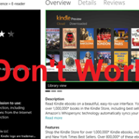 Unbelievable ! Is Amazon deliberately trying to sabotage Windows 8?