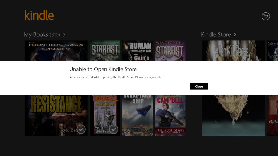 Amazon Still Cannot Be Bothered To Fix Their Kindle App For