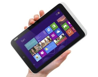 Acer Iconia W3 With Hand