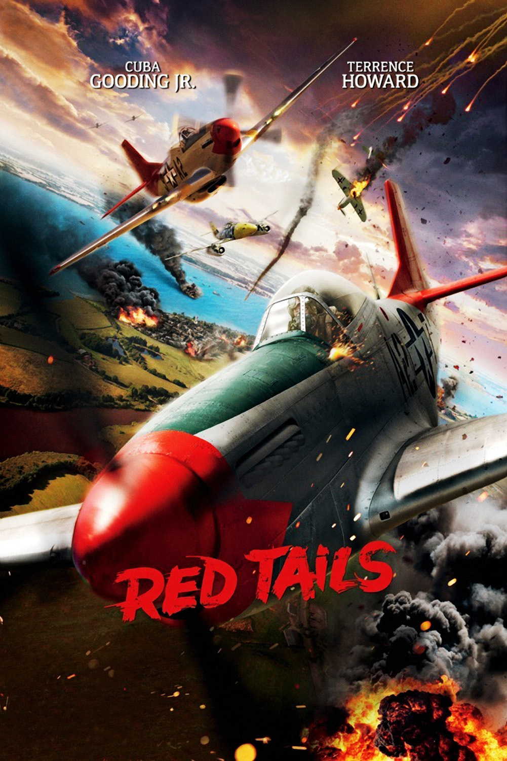 Red Tails – Rather mediocre Hollywood creation