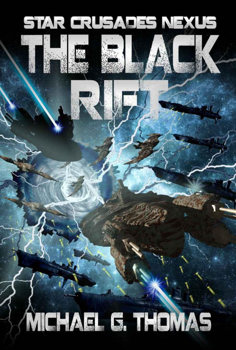 The Black Rift. Good conclusion of the series although it had some tragic elements.