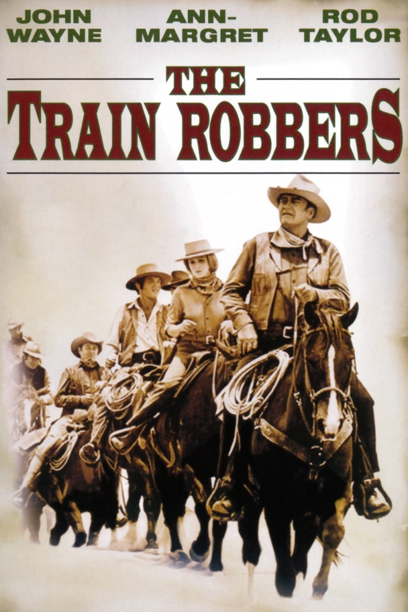 The Train Robbers: This old John Wayne classic is just so fun to watch