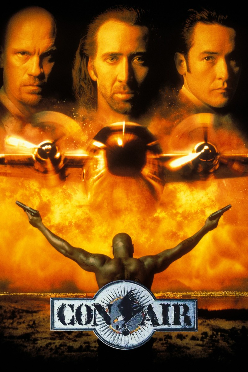 Con Air: Good solid entertainment