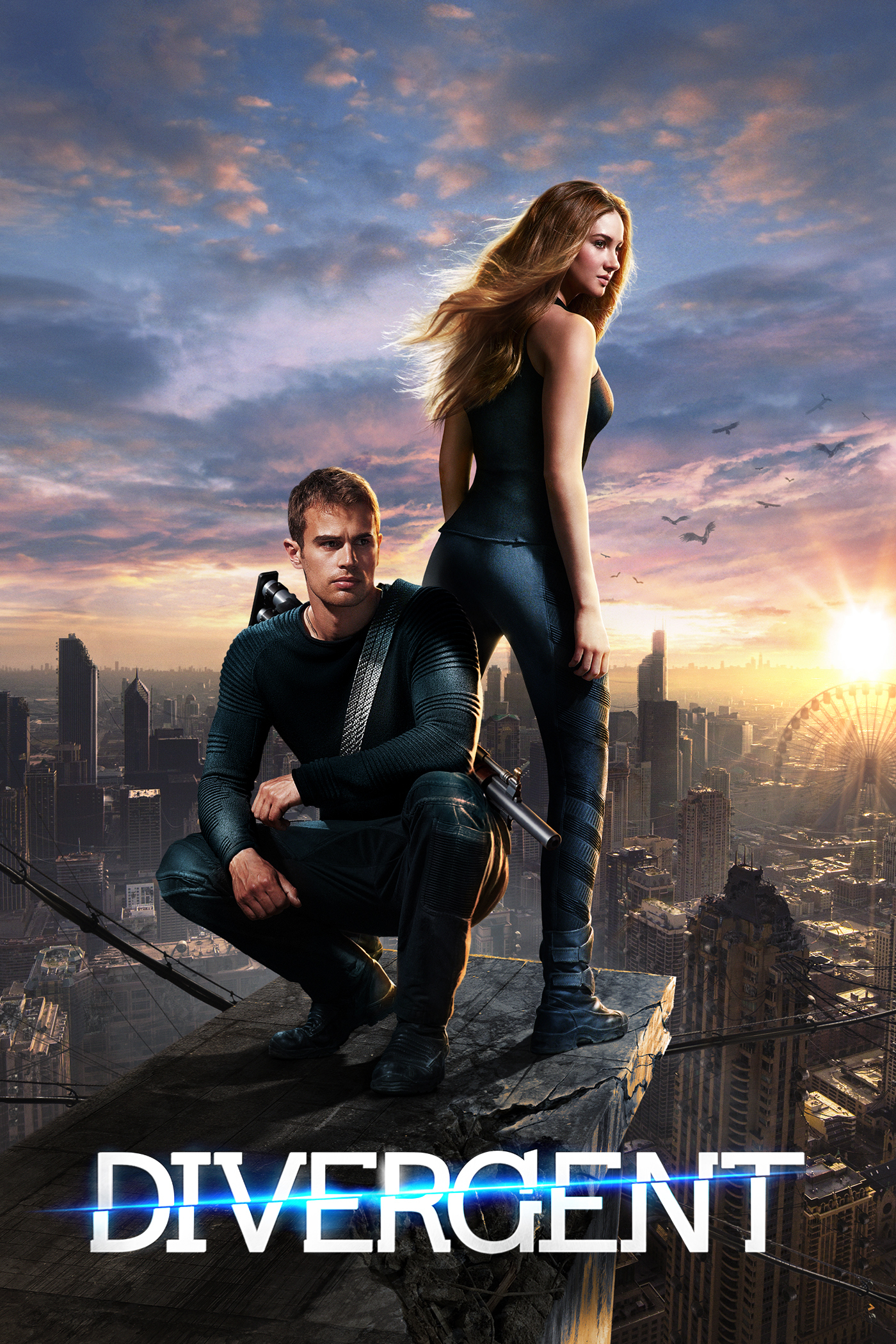 Divergent: Fairly mediocre movie for the younger audience