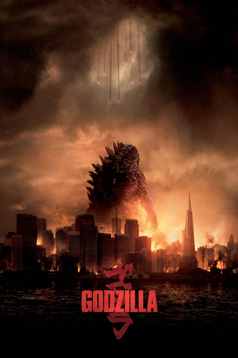 Godzilla (2014): Somewhat entertaining movie with a lousy script