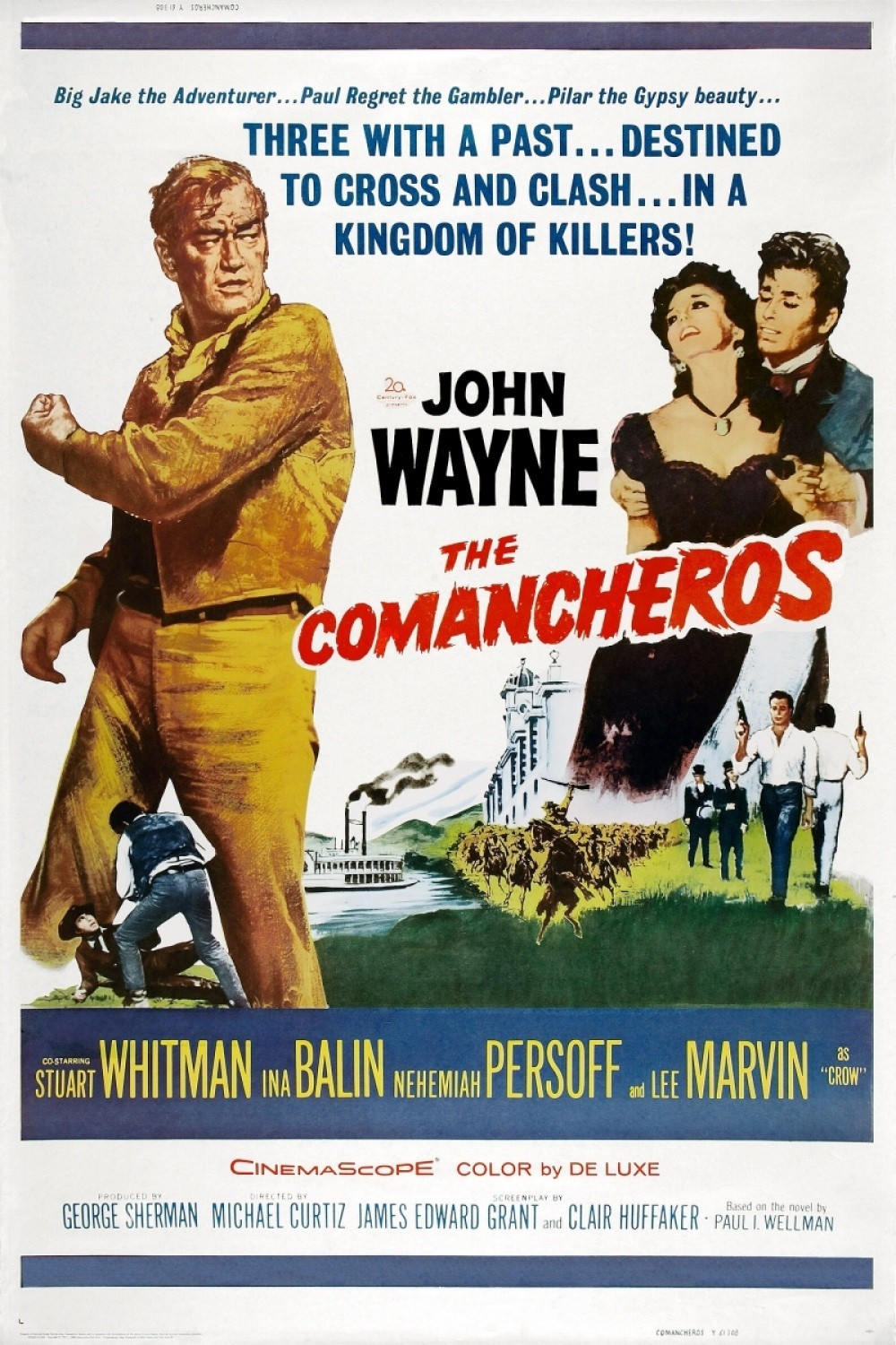 The Comancheros: A bit silly at times but still really enjoyable to watch