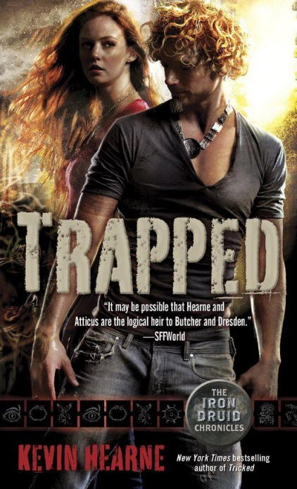 Trapped: Not as bad as the previous book in the series