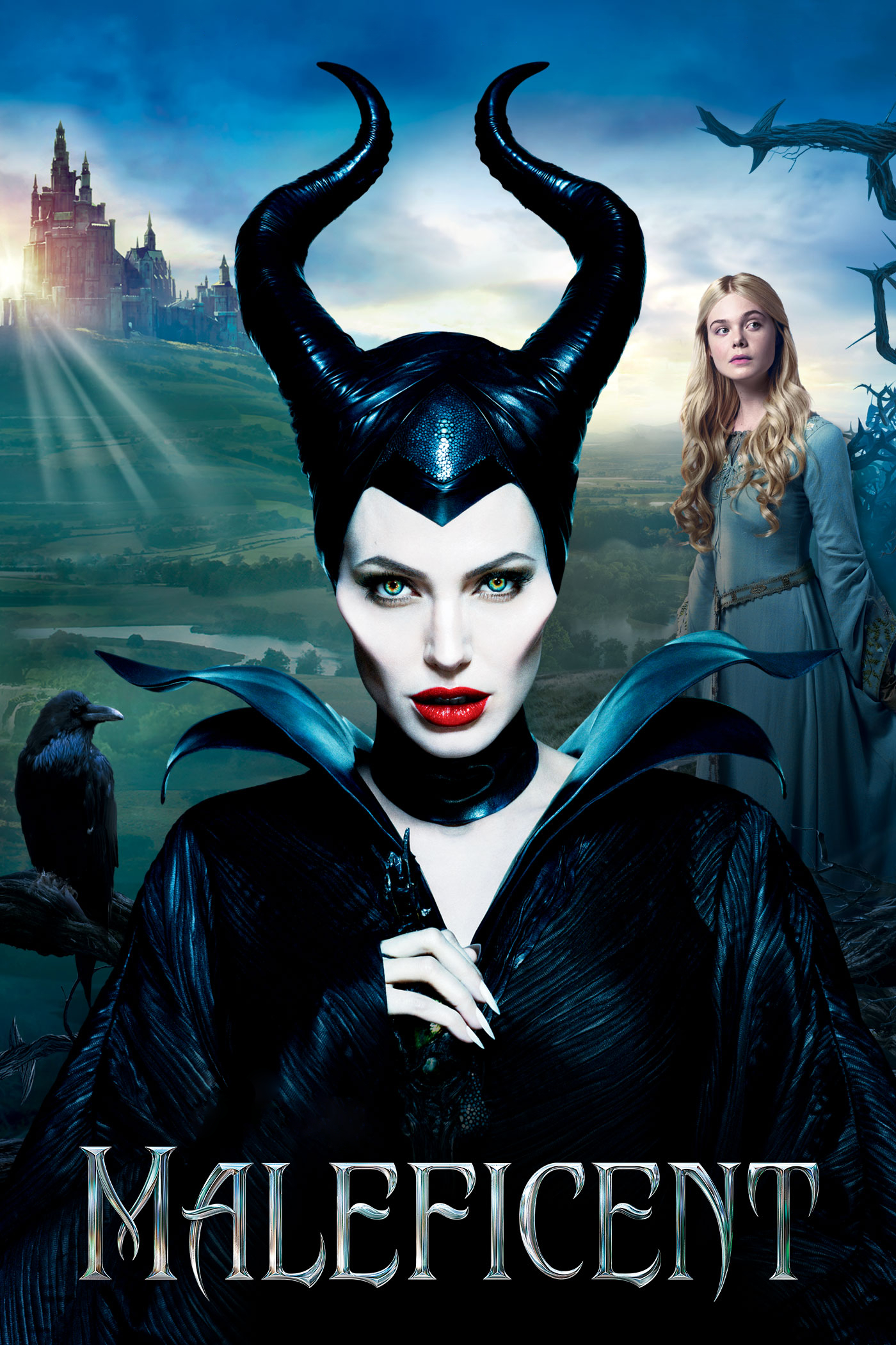 Maleficent: I really liked this movie and so did the kids