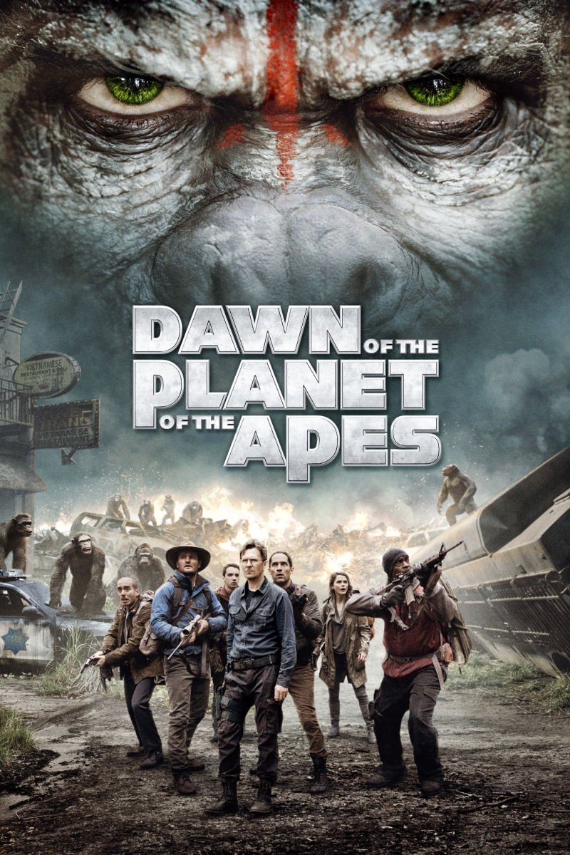 Dawn of The Planet of The Apes: Not great but mildly entertaining