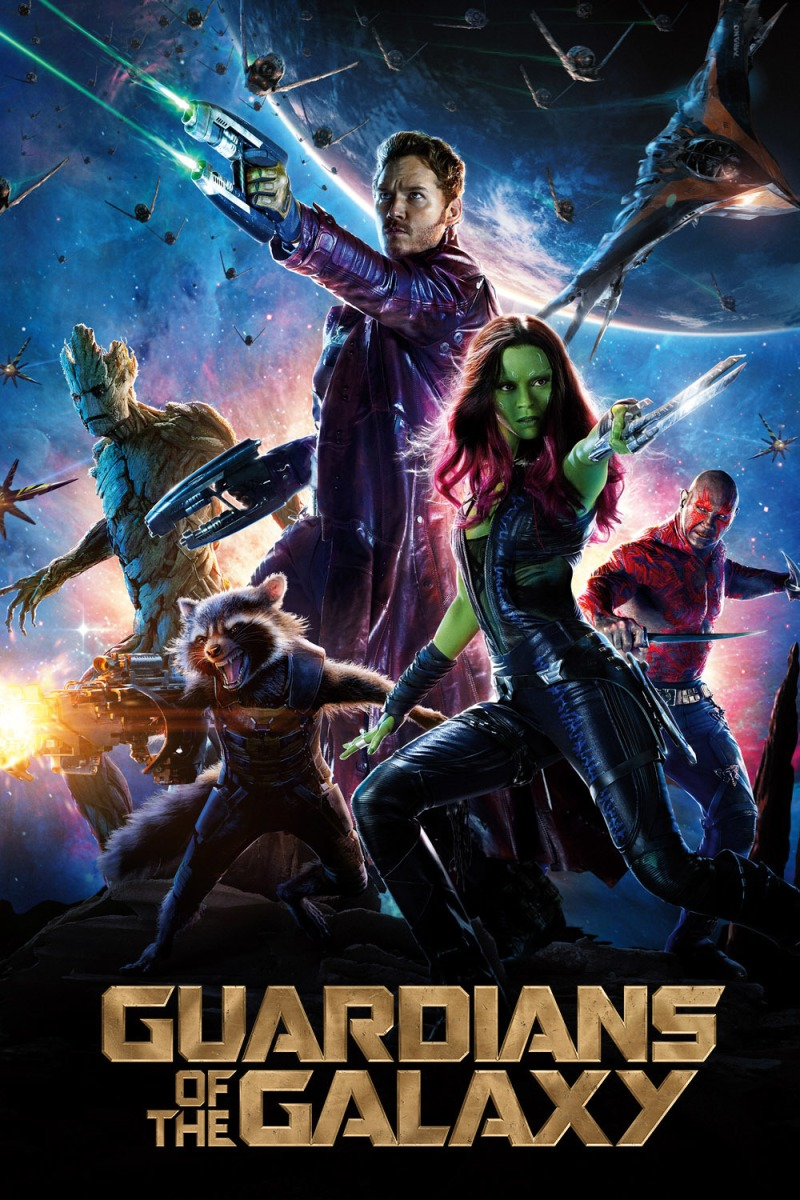 Guardians of The Galaxy: A silly and somewhat childish but rather funny sci-fi comedy adventure.