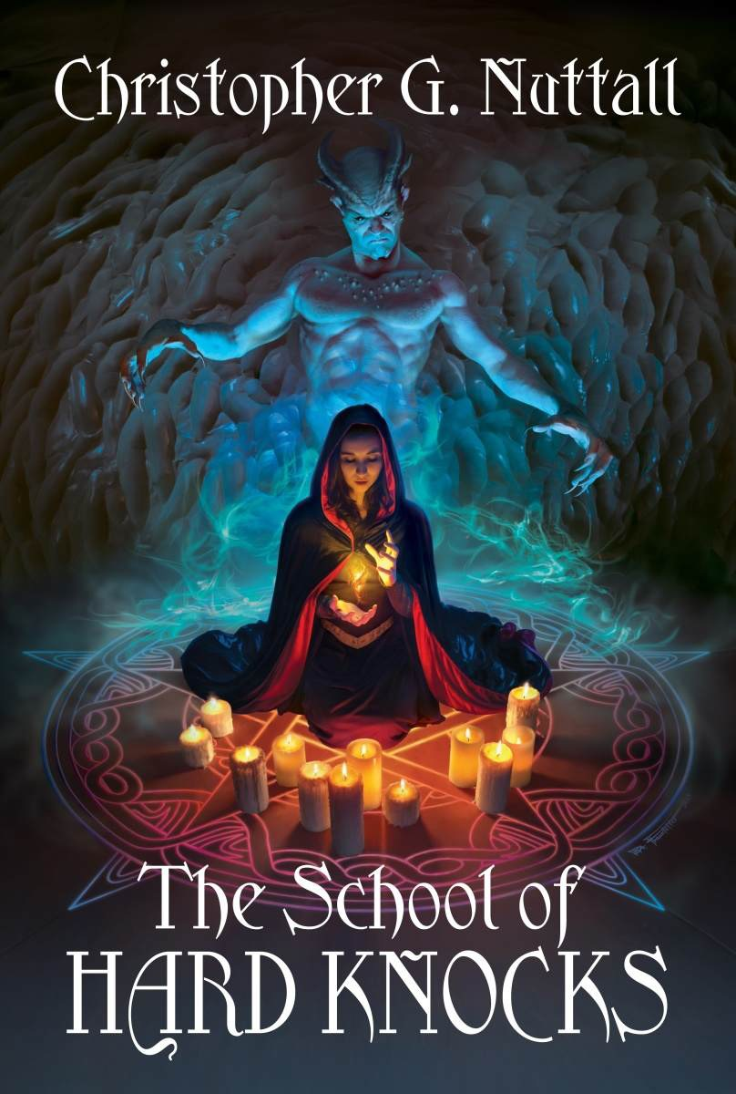 Book Cover Fantasy Explanation : The school of hard knocks another really good book in