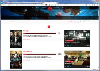 Trakt.tv Progress Page