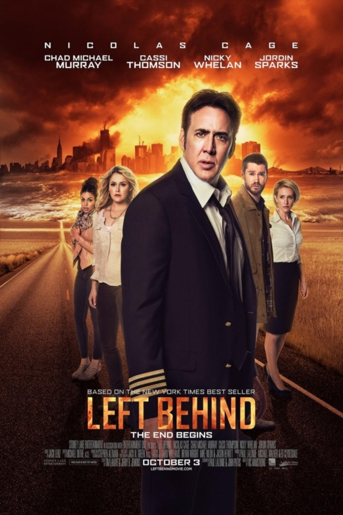 Left Behind – Already mediocre movie ruined by a load of religious nonsense!