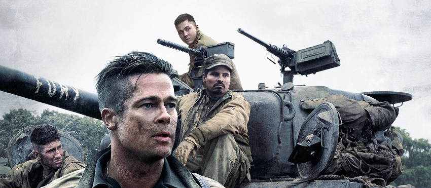 Fury – I cannot say that I liked this movie very much.