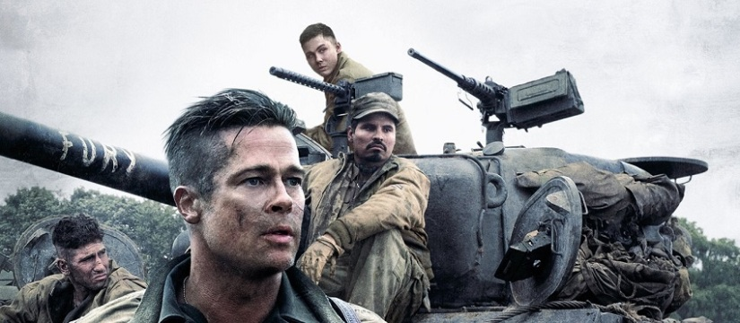 Fury – I cannot say that I liked this movie verymuch.