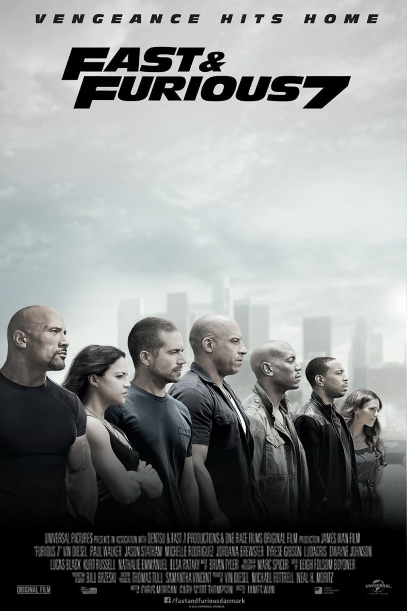 Fast & Furious 7 - Explosions, fast cars, fighting, more explosions...I liked it!