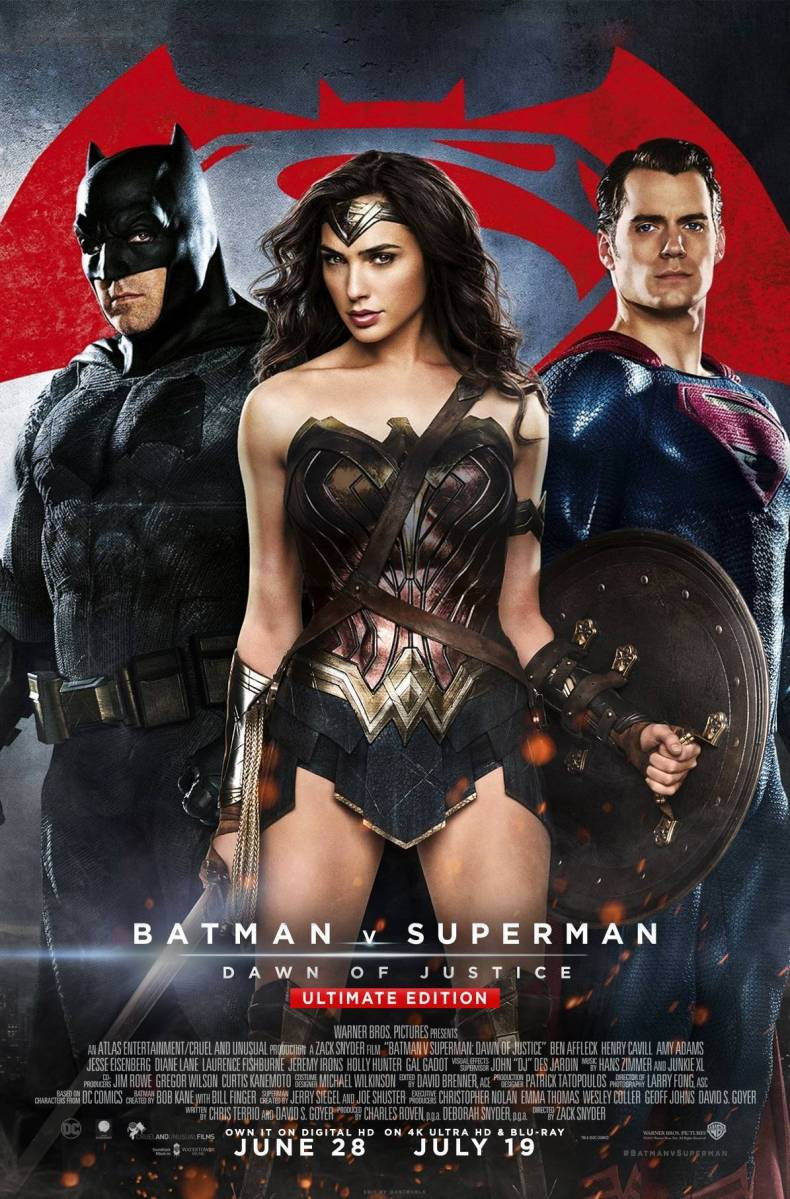 Batman v Superman: The crappiest and most disappointing movie in a long time.