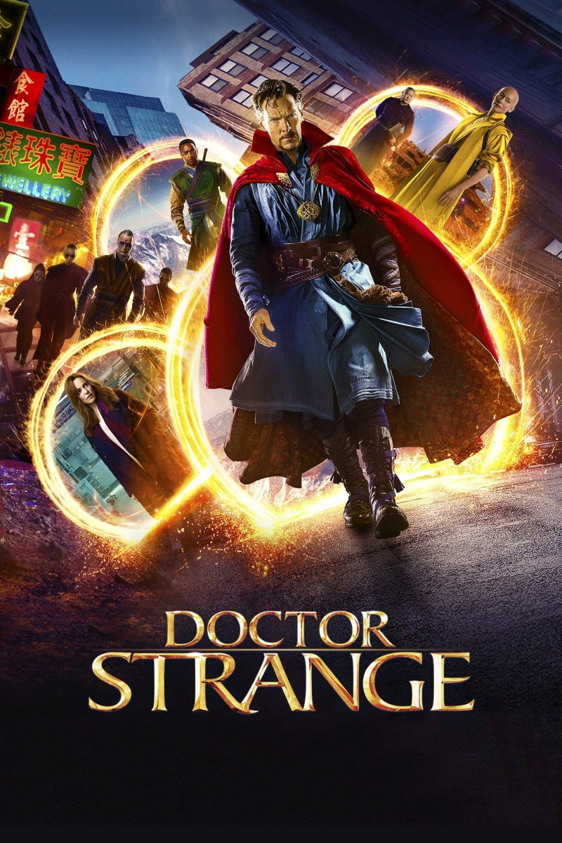Doctor Strange: Excellent magical fireworks display.