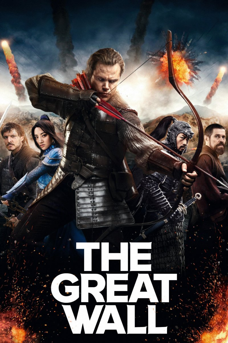 The Great Wall: Great visual spectacle.