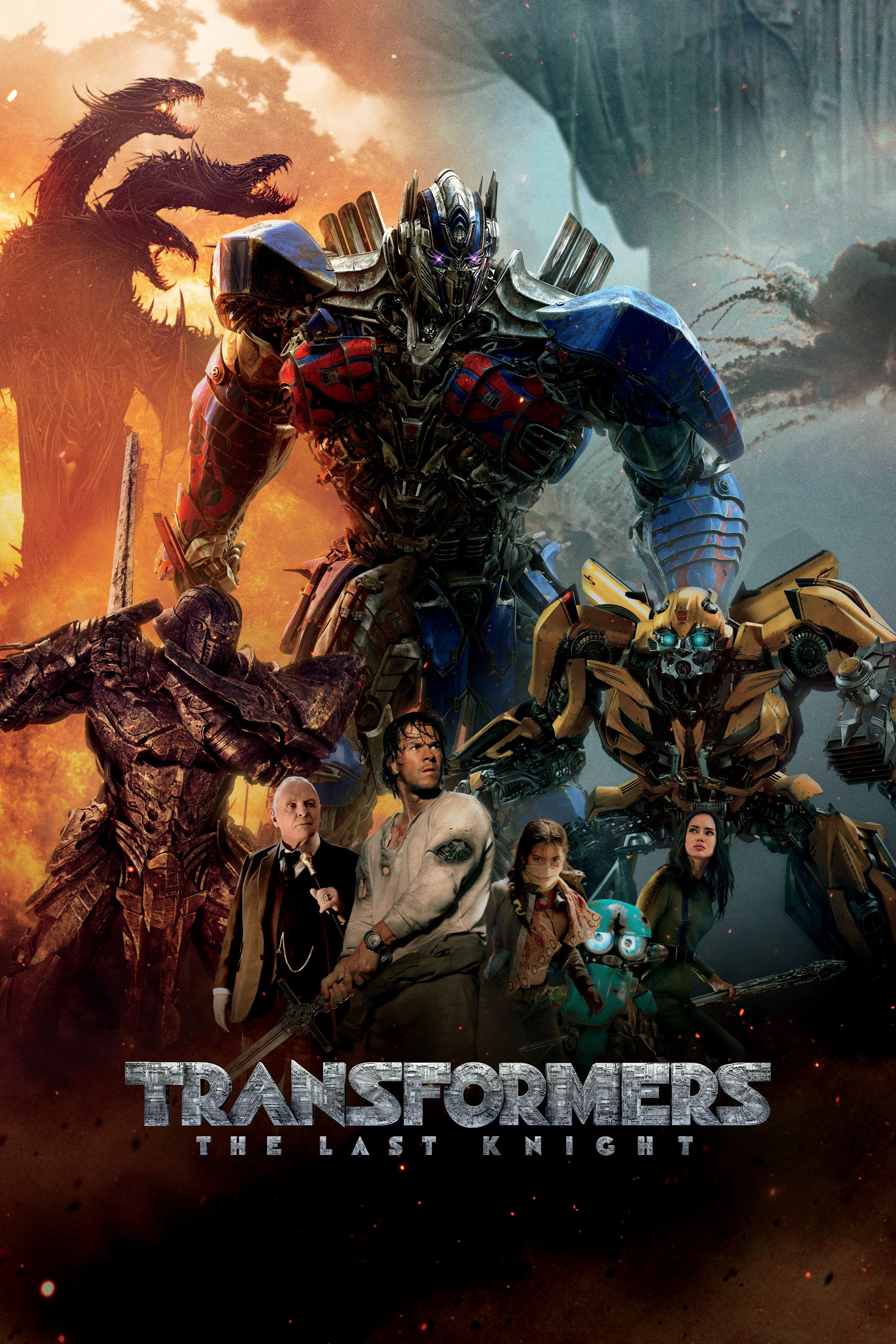 Transformers The Last Knight: Surprisingly enough much less crappy than I expected.