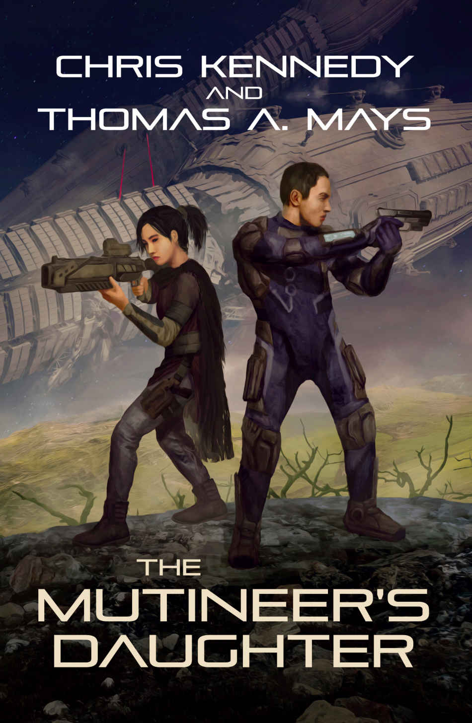 The Mutineers Daughter: A quite enjoyable little space rebel tale.