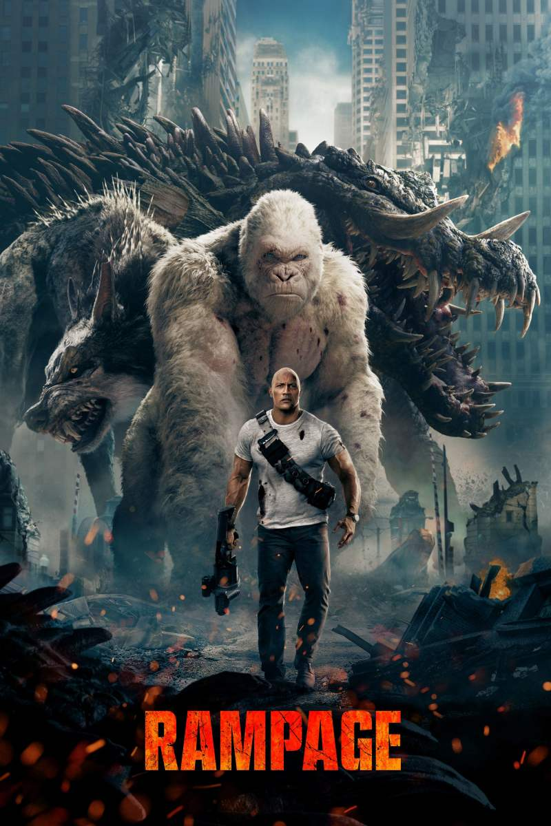 Rampage: Don't think, just enjoy the huge monster action.